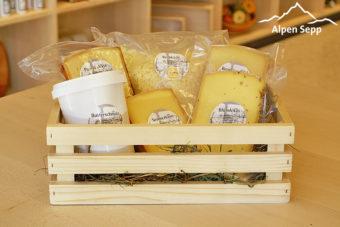 Alpensepp Geschenkbox Sennereigruss