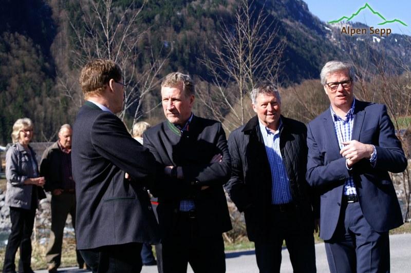Eröffnung alpenkäse bregenzerwald Sennerei