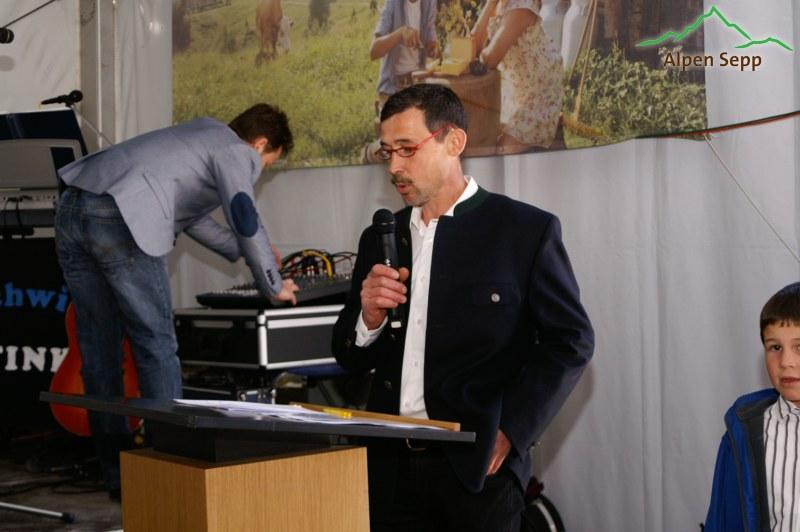 Eröffnung durch Lothar Sieber - Aufsichtsratsvorsitzender