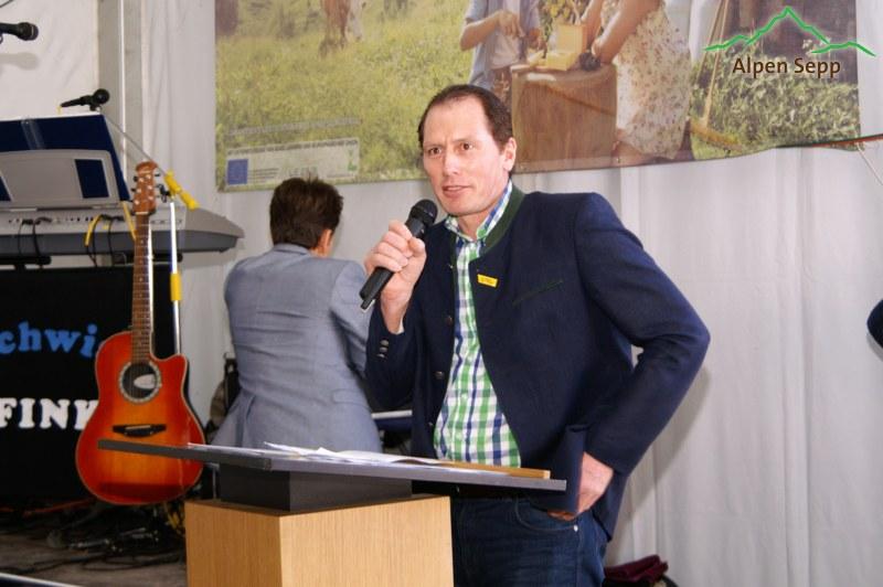 Begrüssung - Landwirtschaftskammer-Präsident Josef Moosbrugger