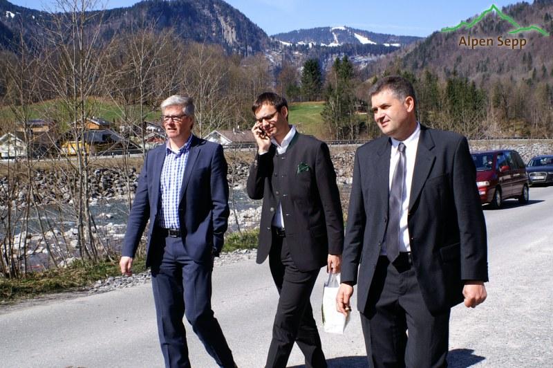 Eröffnung Sennerei alpenkäse bregenzerwald