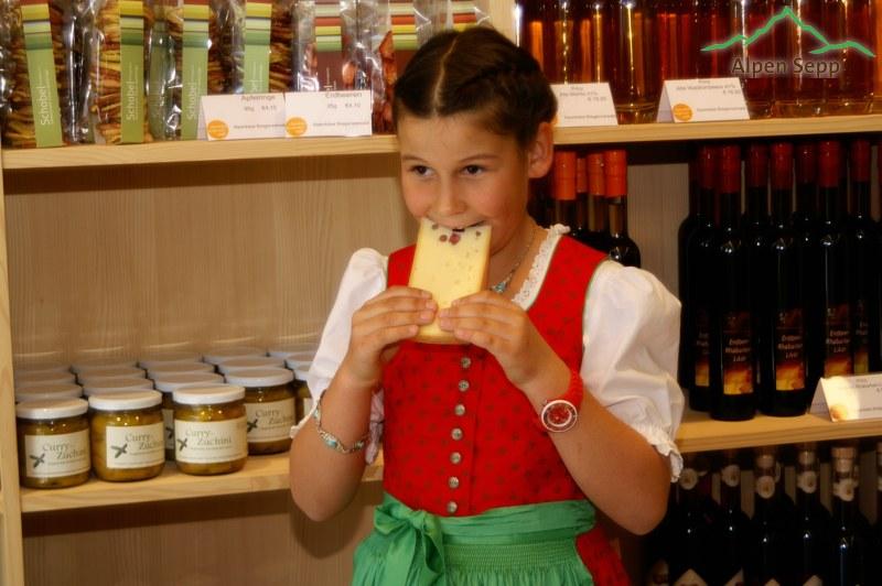Alpenkäse schmeckt allen