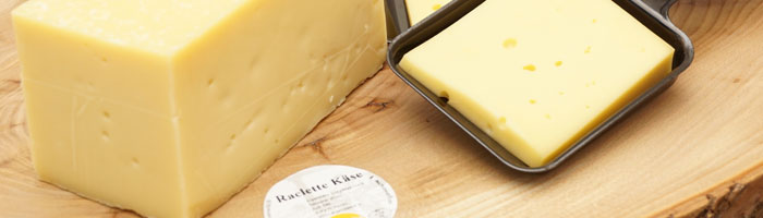 Raclette Alpenkäse verzaubert das Menü zum Hochgenuss