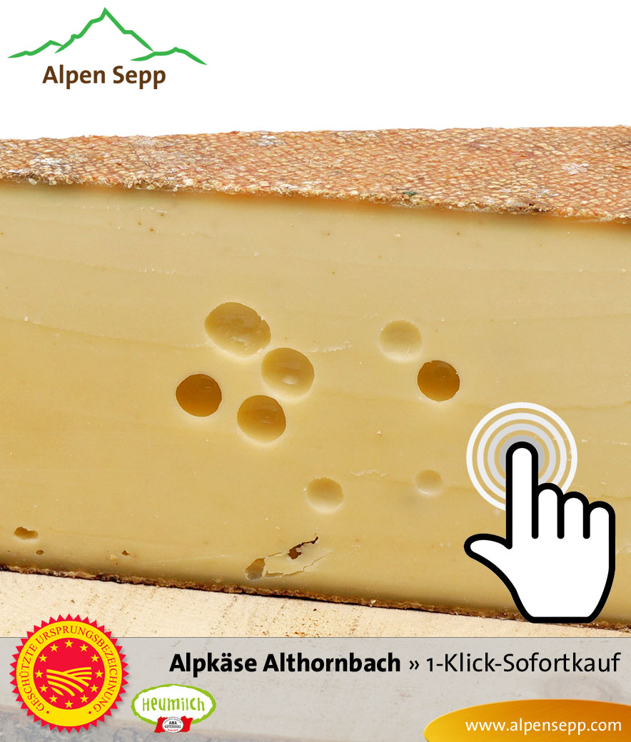 Alpkäse Alpe Althornbach Sofortkauf