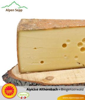 Alpkäse Alpe Althornbach, 10 Monate - nur mehr kurze Zeit!