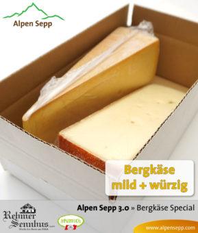 Alpen Sepp 3.0 - Bergkäse Test-Aktion