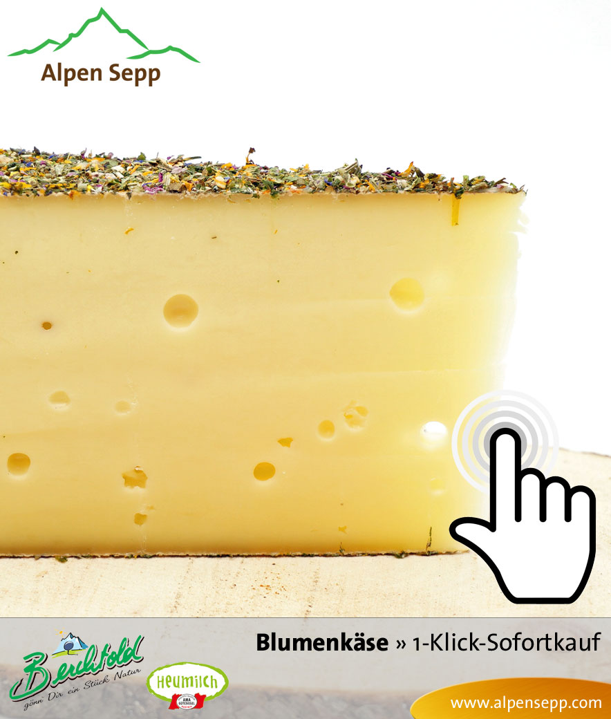 Bregenzerwälder Blumenkäse Sofortkauf