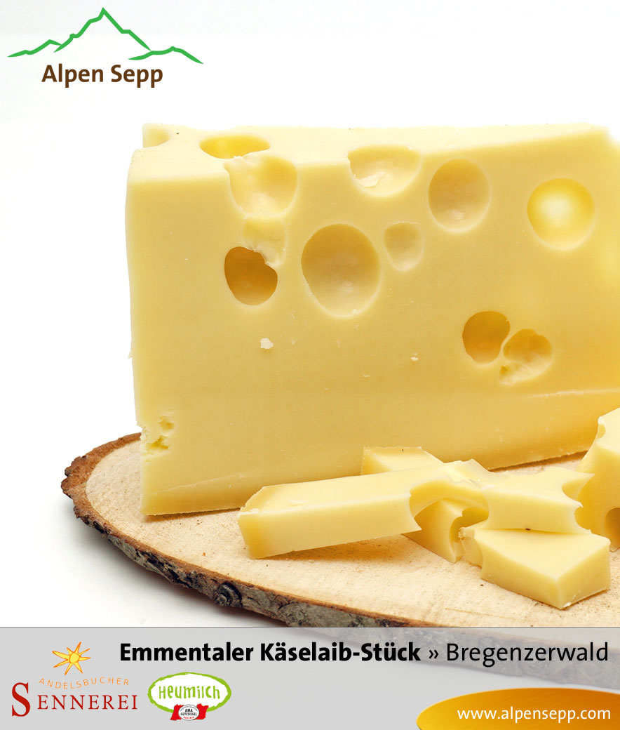 Bregenzerwälder Emmentaler Käselaib
