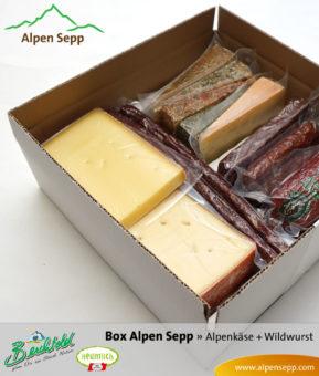 Alpen Geschenkbox `Alpen Sepp`
