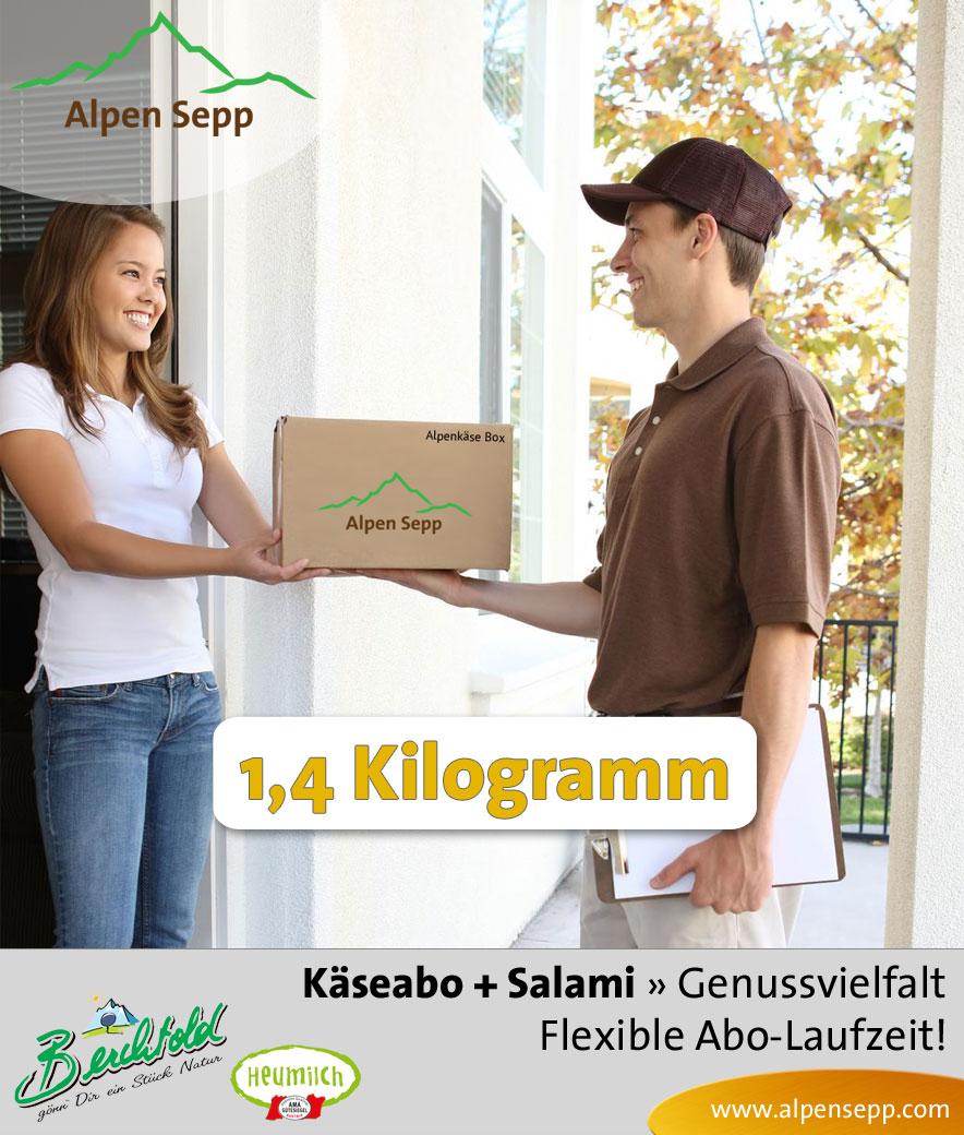 Abo Käse und Salami, 1,4 Kilogramm