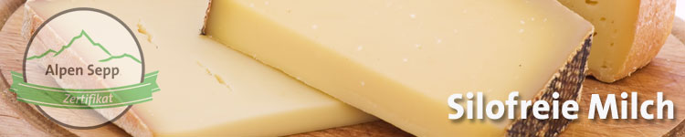 Silofreie Milch im Käsewiki vom Alpen Sepp