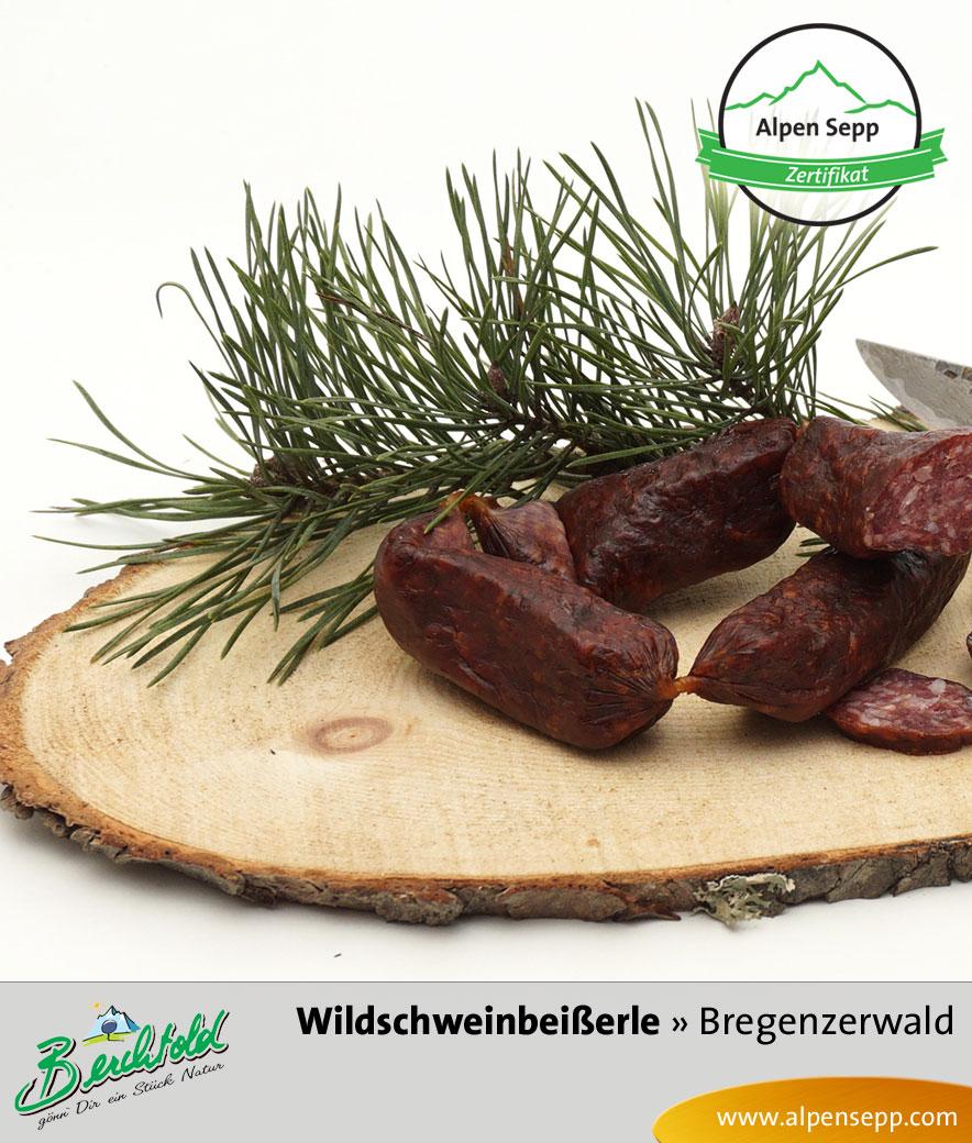 Bregenzerwälder Wildschwein Beißerle