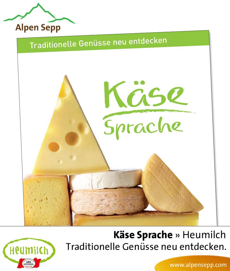 Lektüre - Lesebuch: Käsesprache - traditionelle Genüsse neu entdecken