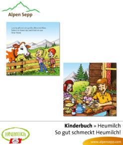 Heumilch Kinderbuch: So gut schmeckt Heumilch