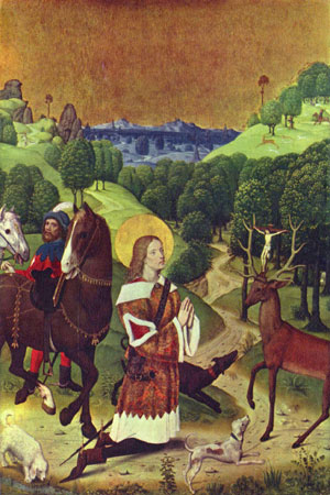 Bekehrung des heiligen Hubertus (wikipedia)