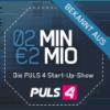 Logo von 2 Minuten 2 Millionen auf Puls4