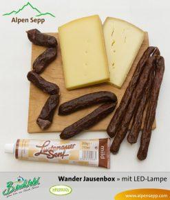 Wanderbox - Jause mit Wurst und Käse