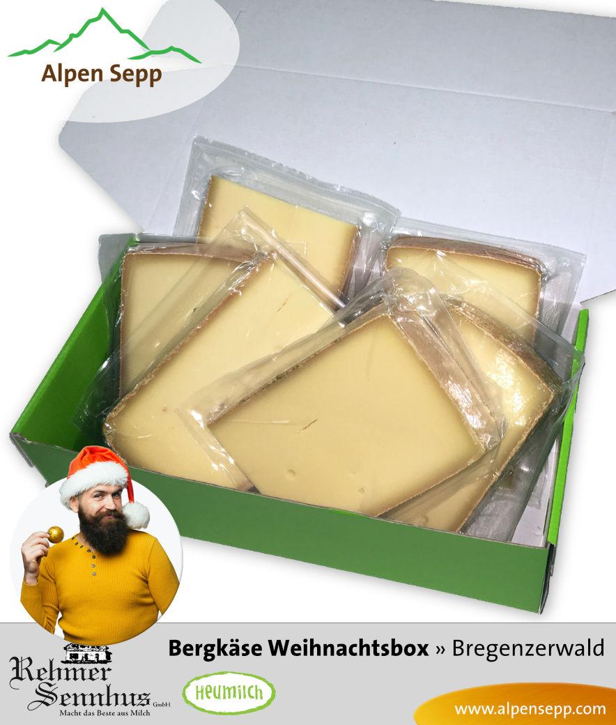 Rehmer Bergkäse Weihnachtsbox