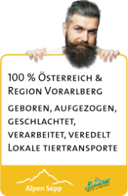 Fleischqualität Alpen Sepp