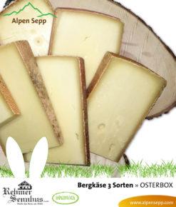 Osterbox 2018 - 3 Sorten Bergkäse
