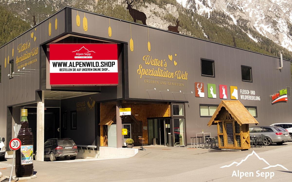 neuer online shop wild ab 1000 m seeh he wildprodukte aus den alpen alpen sepp premium k seshop. Black Bedroom Furniture Sets. Home Design Ideas