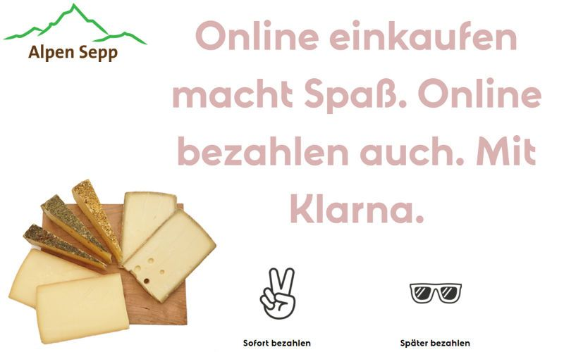 wurst und k se auf rechnung im shop kaufen vorteile und nachteile alpen sepp premium k seshop. Black Bedroom Furniture Sets. Home Design Ideas