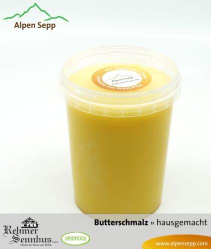 Premium Butterschmalz aus Heumilch