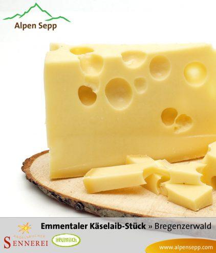 Emmentaler Käse vom Käselaib