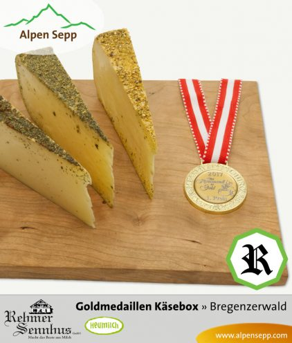 Goldmedaillen Käse in der Käsebox