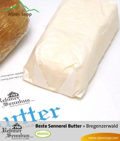 Frische Butter vom Senn