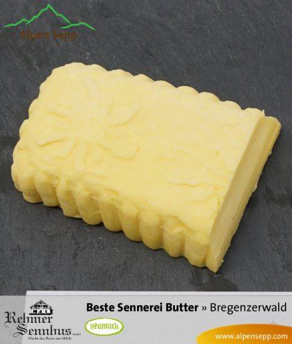 Butter von der Sennerei bzw. vom Senn aus Heumilch