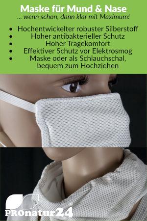 Schutzmaske nach baubiologischem Standard